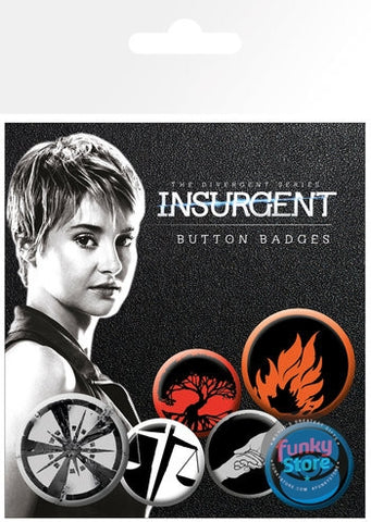 Insurgent Factions Badge Pack