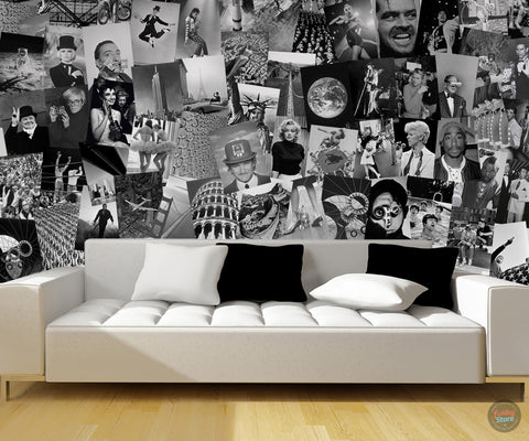 LIFE CREATIVE COLLAGE 64 PIECE WALLPAPER
