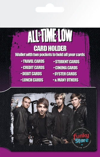 All Time Low Group Travel Pass Card Holder