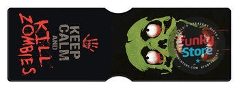 Zombie Travel Pass Card Holder