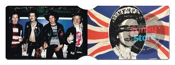 Sex Pistols God Save the Queen Travel Pass Card Holder