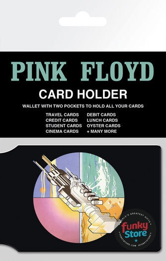 Pink Floyd Wish You Were Here Travel Pass Card Holder