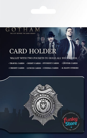 Gotham Police Badge Travel Pass Card Holder