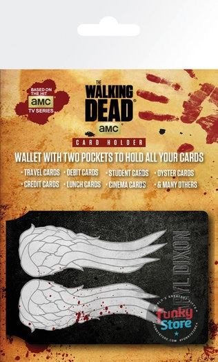 The Walking Dead Wings Travel Pass Card Holder