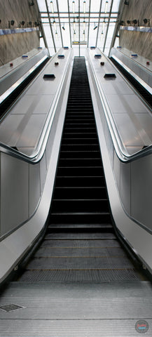 ESCALATOR DOOR MURAL