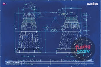 Doctor Who Blueprint Maxi Poster