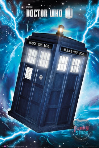 Doctor Who Tardis Maxi Poster