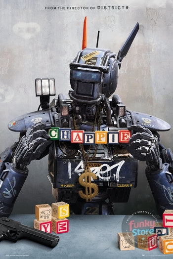 Chappie One Sheet Maxi Poster