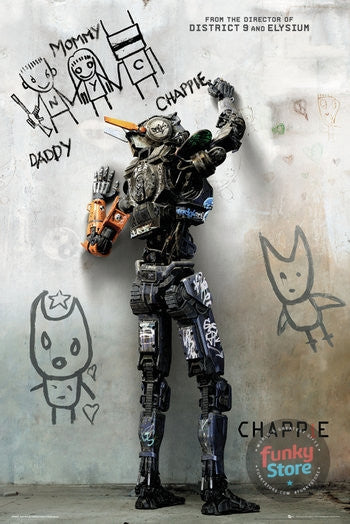Chappie Teaser Maxi Poster