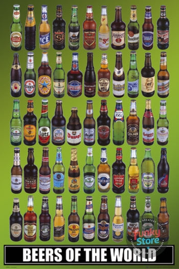 Beers Of The World Maxi Poster
