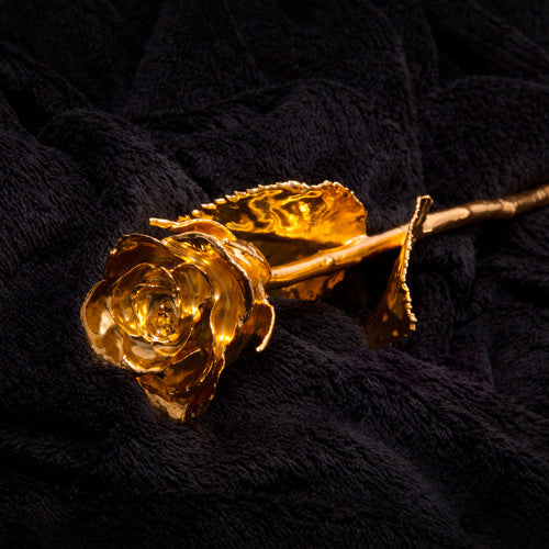 Gold 24 Carat Pure Golden Rose