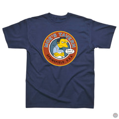 The Simpsons - Moe's Tavern - Navy T-Shirt