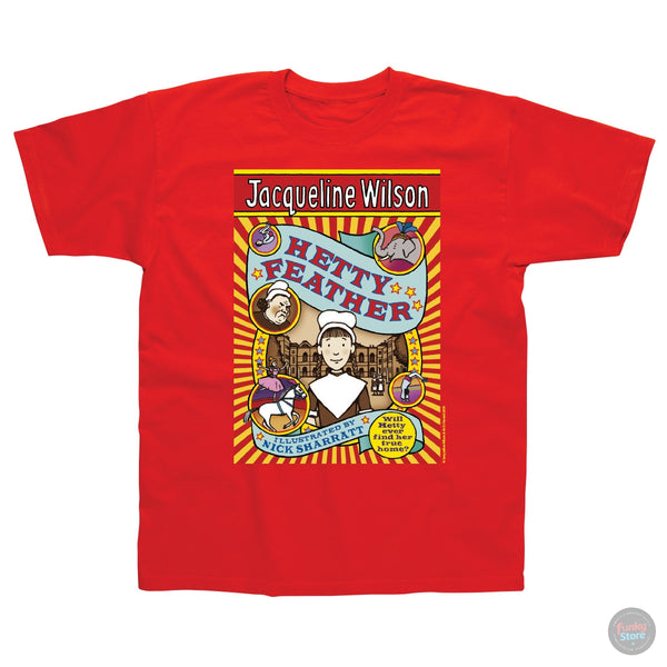Jacqueline Wilson - Hetty Feather - Red T-Shirt