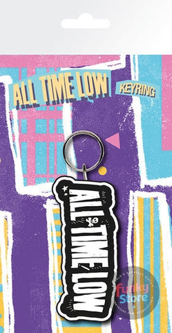 All Time Low Logo Keyring