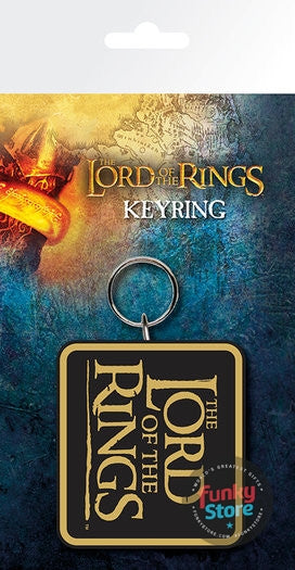 Lord of the Rings Logo Keyring