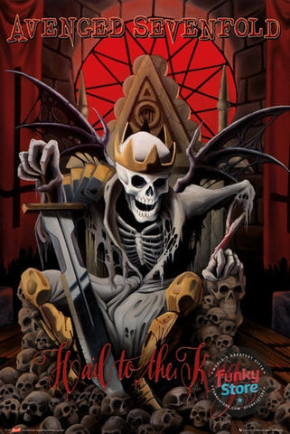 Avenged Sevenfold Hail to the King Maxi Poster