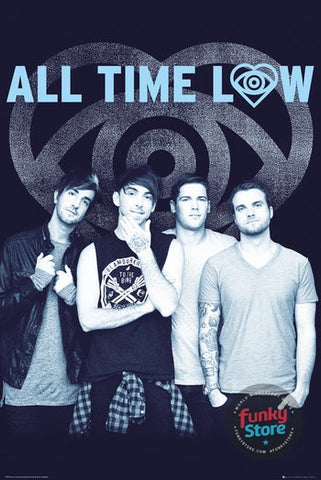 All Time Low Colourless Maxi Poster