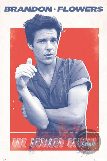 Brandon Flowers Desired Effect Maxi Poster