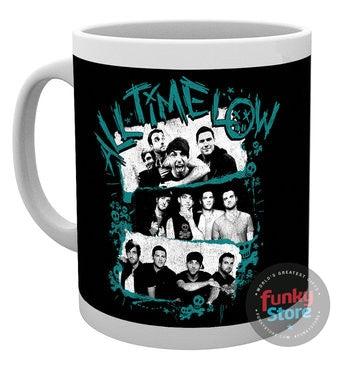 All Time Low Stacked Photos 10oz Mug