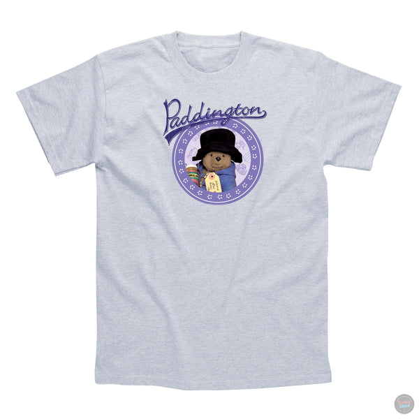 Paddington Bear - Lilac/Grey - T-Shirt