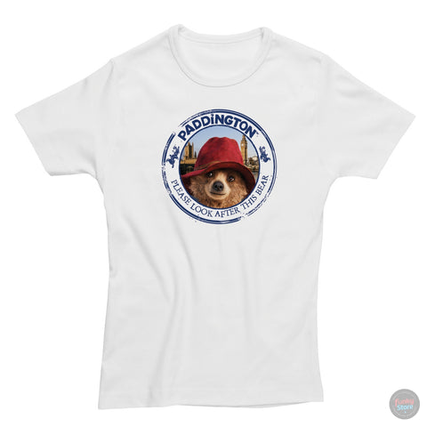 Paddington Bear - Movie - White T-Shirt
