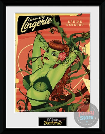 DC Comics Poison Ivy Framed Collector Print