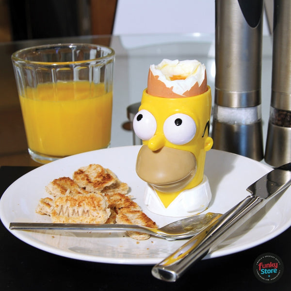 The Simpsons Egg Cup & Toast Cutter