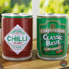 Grow Your Own Basil & Chilli (Pack of 2)