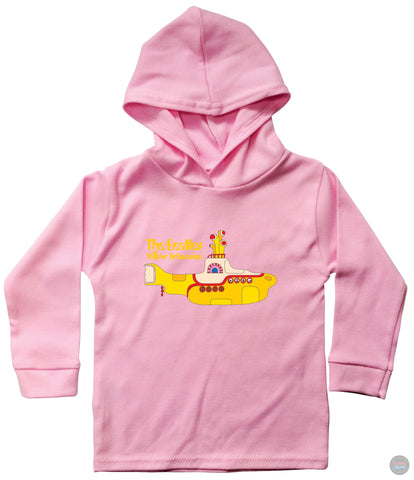 The Beatles - Yellow Submarine - Children's Hooded Long Sleeved T-Shirt