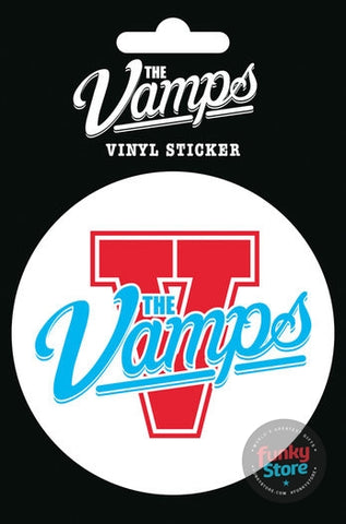 The Vamps Logo Vinyl Sticker