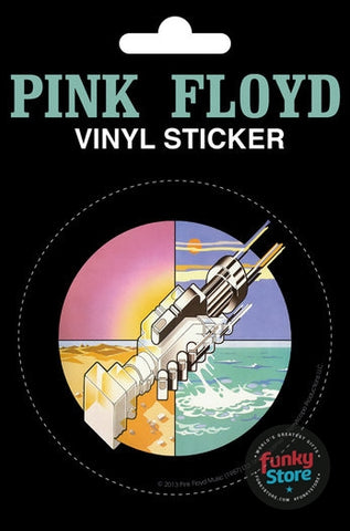 Pink Floyd Wish You Were Here Vinyl Sticker
