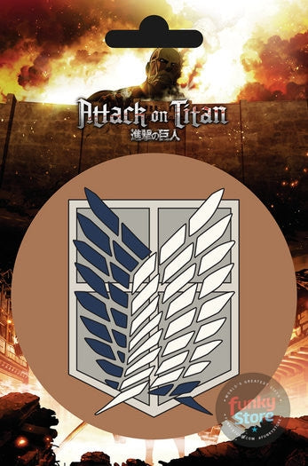 Attack On Titan Scout Vinyl Sticker