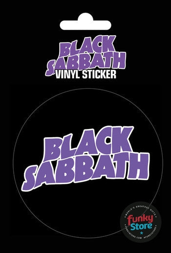 Black Sabbath Logo Vinyl Sticker