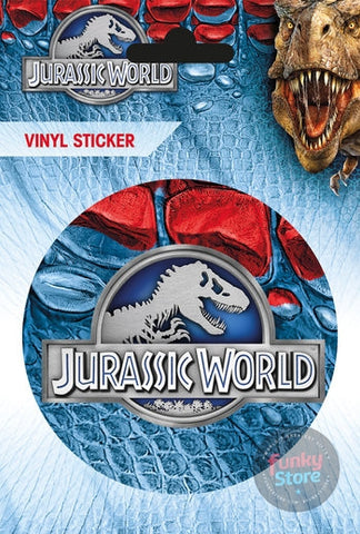 Jurassic World Logo Vinyl Sticker