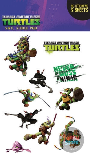 Teenage Mutant Ninja Turtles Brothers Sticker Pack (Vinyl)