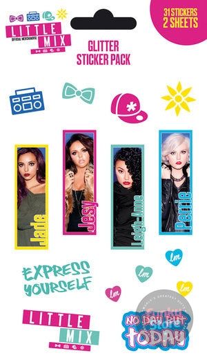 Little Mix Rules Sticker Pack (Glitter)