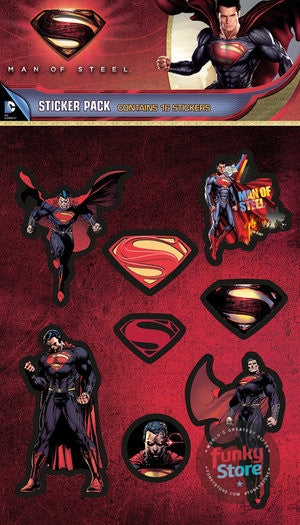 Superman Man of Steel Avenge Sticker Pack