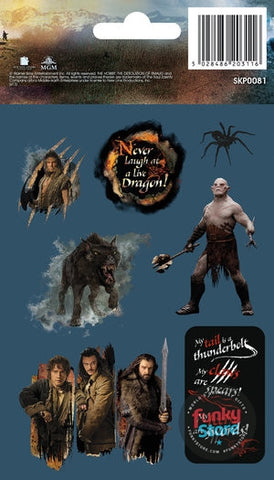 The Hobbit Desolation of Smaug Sticker Pack