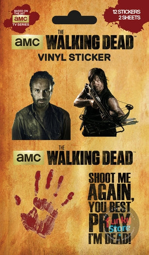The Walking Dead Mix Sticker Pack