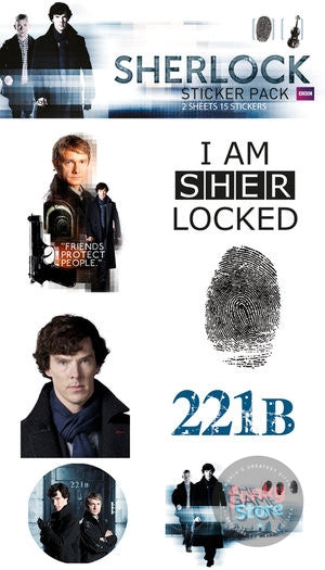 Sherlock Mix Sticker Pack