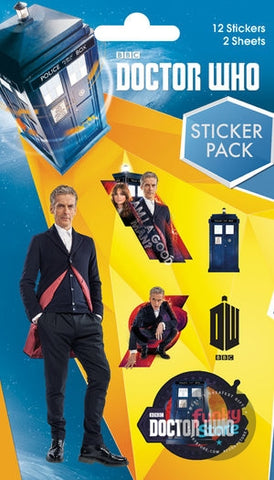 Doctor Who Mix Sticker Pack