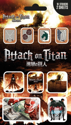 Attack on Titan Mix Sticker Pack