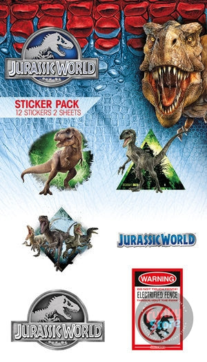 Jurassic World Mix Vinyl Sticker Pack
