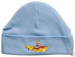 Beatles Embriodered Beanie Hat (Sky Blue)