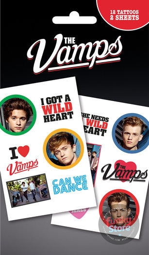 The Vamps Mix Tattoo Pack