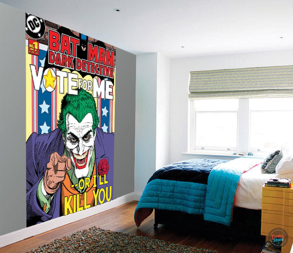 THE JOKER WALL MURAL