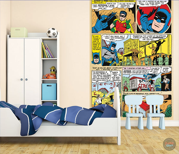 BATMAN COMIC WALL MURAL