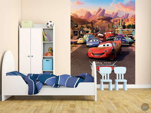 DISNEY CARS WALL MURAL