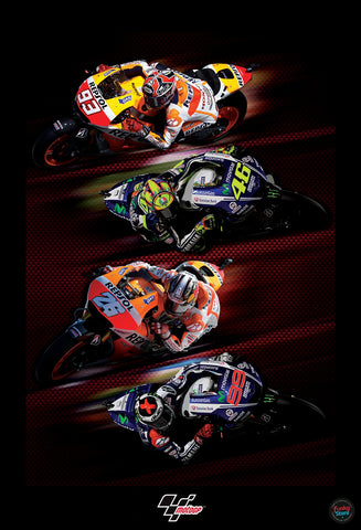 OFFICIAL LICENSED MOTOGP WALL MURAL