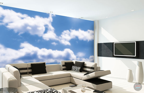 CLOUDS WALL MURAL